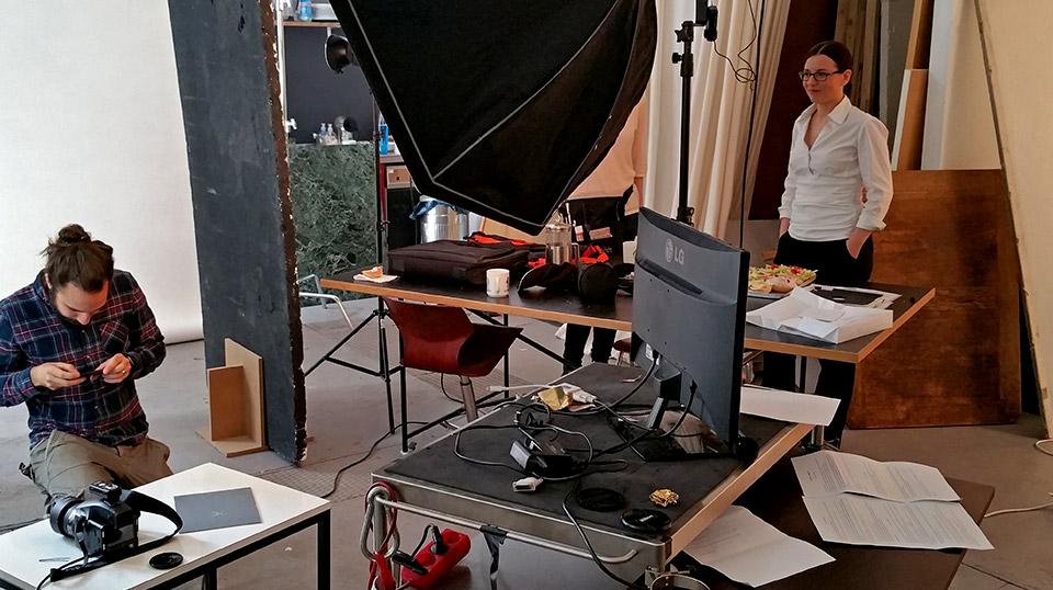 PRIMA LINE - Imagefilm - Dreharbeiten