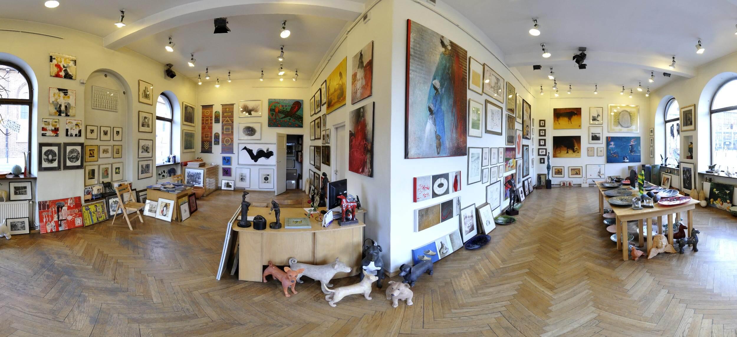 "360°-Panorama für Artgalerie ""Galeria M"" in Wrocław (Polen)"