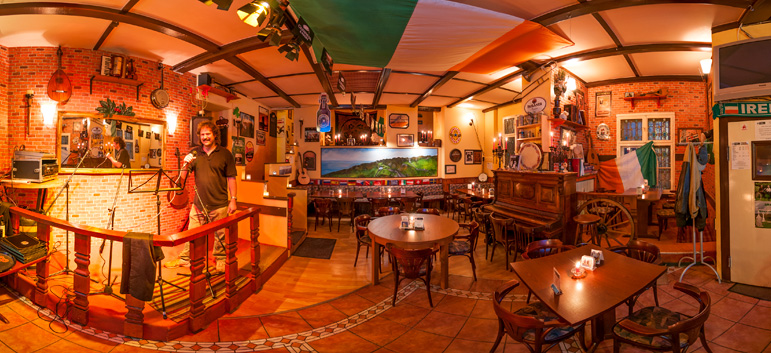 "Virtuelle 360°-Tour für Irish Pub ""Molly Malones"" in Berlin"
