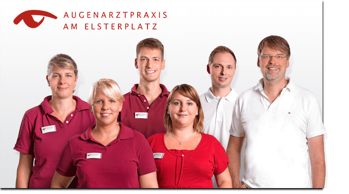 Flexibles Team-Bild Augenarztpraxis am Elsterplatz Berlin