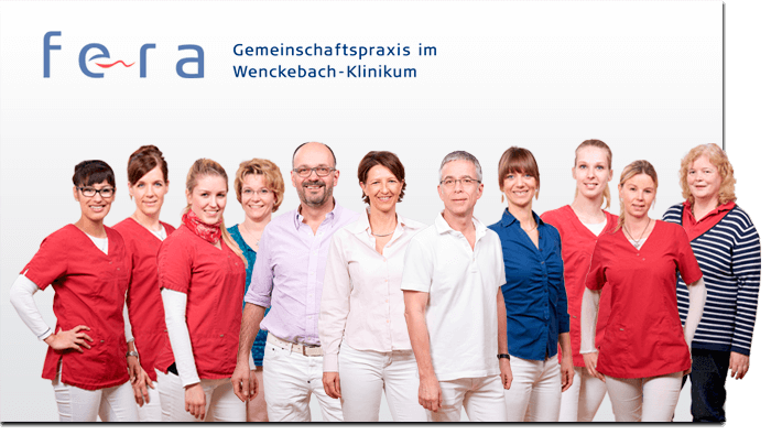 Flexibles Team-Bild Gemeinschaftspraxis FERA Berlin