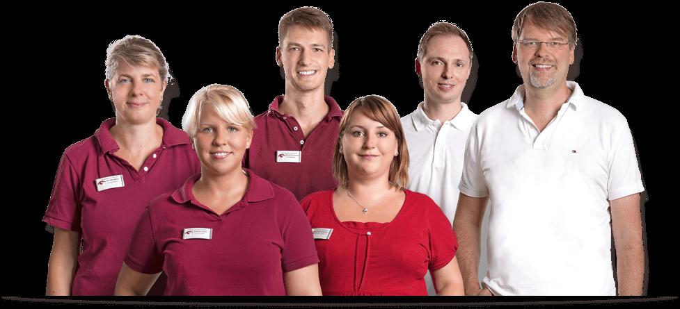 Webdesign - Flexibles Team-Bild für die Webseite Augenarztpraxis am Elsterplatz Berlin