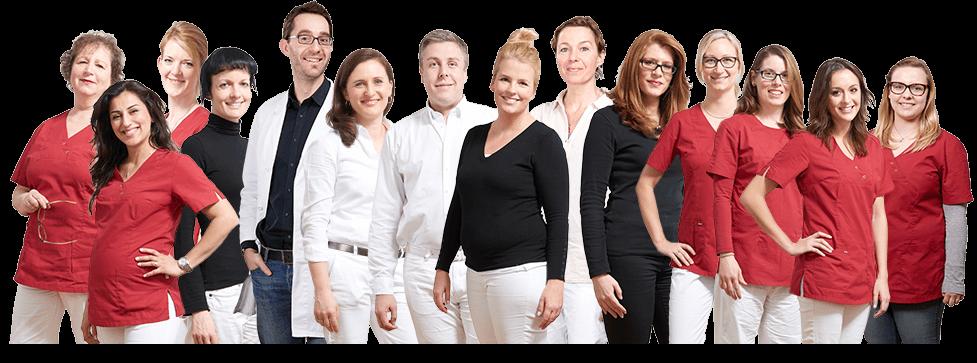 Webdesign - Flexibles Team-Bild für die Internetseite Kinderwunschzentrum in Berlin