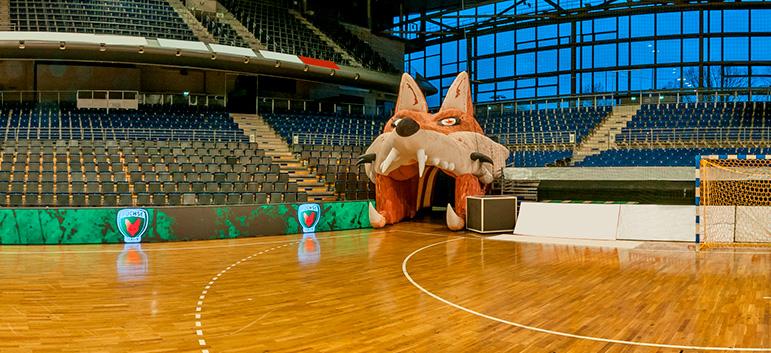 Virtuelle 360°-Tour für Füchse Berlin - Max-Schmeling-Halle