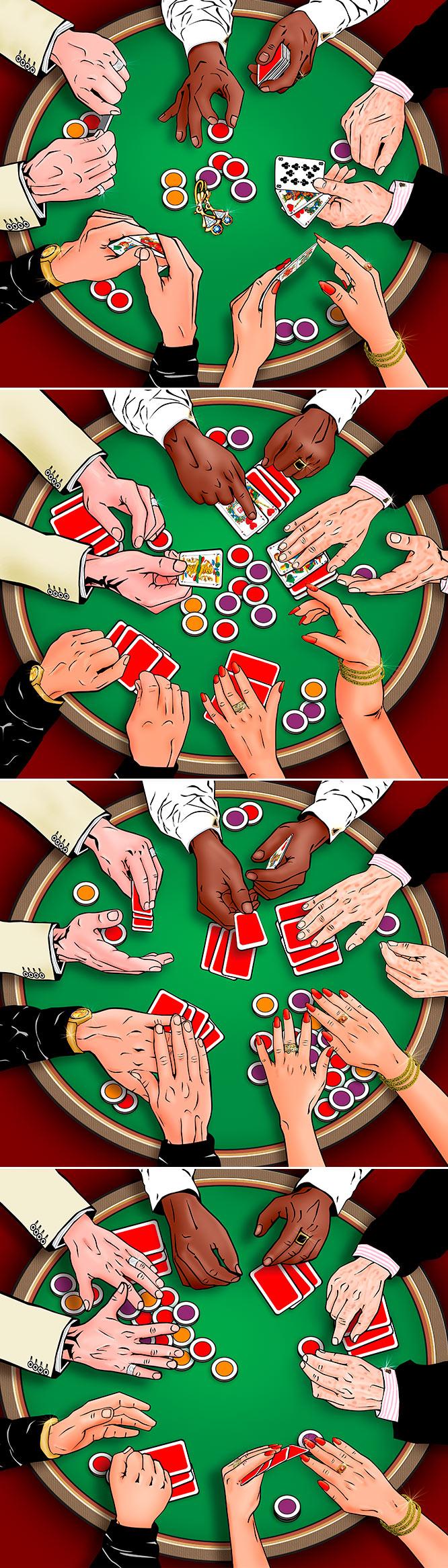 Grafikdesign und Illustration für Bet And Win