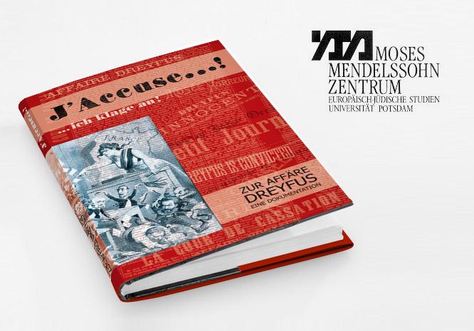 Grafikdesign Buch Coverdesign für Moses Mendelssohn Zentrum