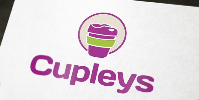Logoentwicklung für einen Produzenten von umweltfreundlichen Trinkbecher