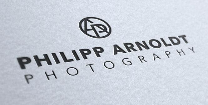 Logo für Philipp Arnoldt, einen genialen Fotografen aus Berlin.