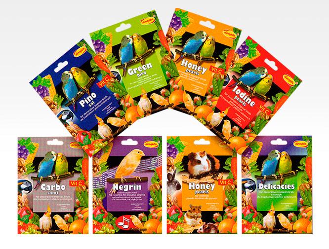 Verpackungsdesign Verpackungen für Vogelfutter von Daphnia
