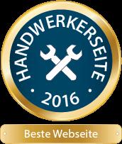 Handwerkerseite 2016 Beste Webseite