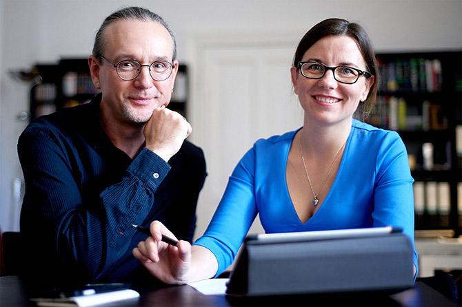 Prima Line Webdesign Team aus Berlin - Katarzyna und Michael Tichnowetzki