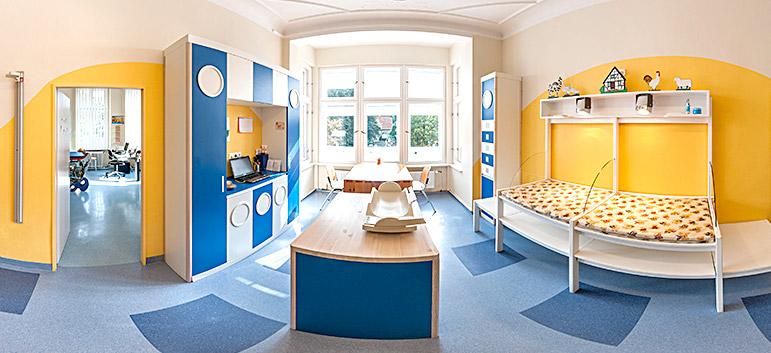 Virtuelle 360°-Tour für die Kinderarztpraxis Dr. Oliver Hundt