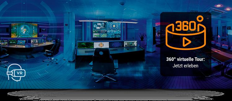 360°-Panorama im Kontrollraumsimulator von JST