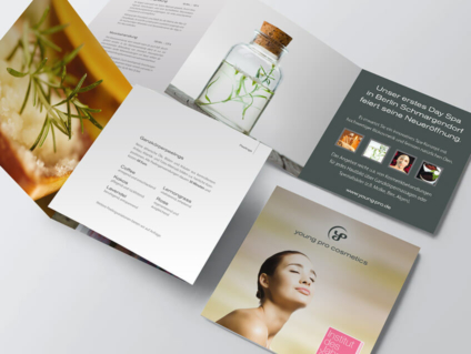 Grafikdesign Berlin für Infoflyer und Broschüren