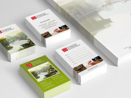 Grafikdesign Berlin für Visitenkarten und Briefpapier
