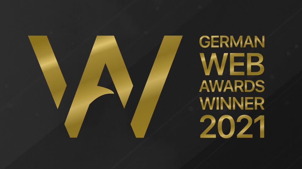 German Web Award für PRIMA LINE